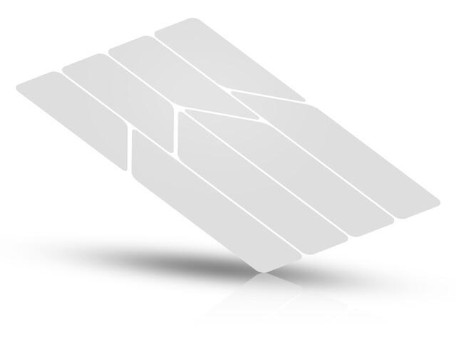 Riesel Design re:flex Reflecterende Stickers voor frames, white